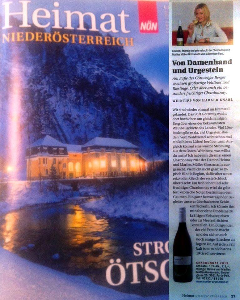 Weintipp: Chardonnay 2013